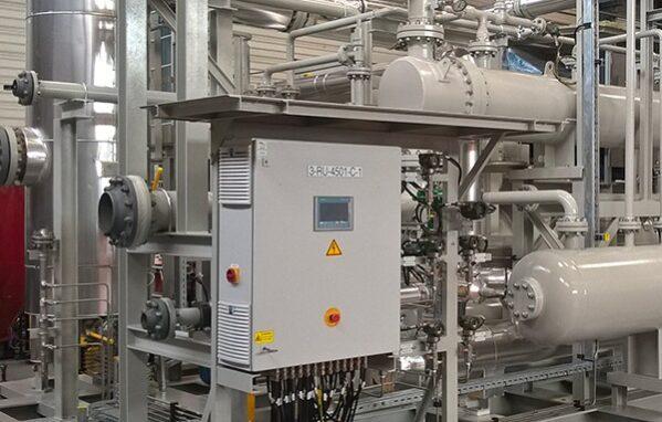 Salle des machines process
